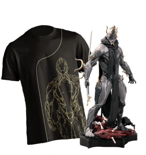 A $140 Umbra Excalibur Warframe Statue Is Coming
