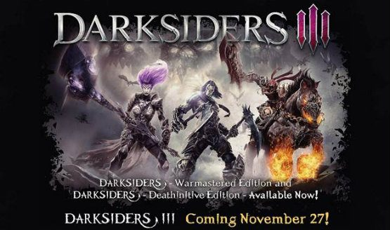 THQ Nordic is Updating the First Two Darksiders for Native 4K