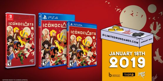 Here's When You Can Order a Physical Copy of Iconoclasts for the PS4 and Vita