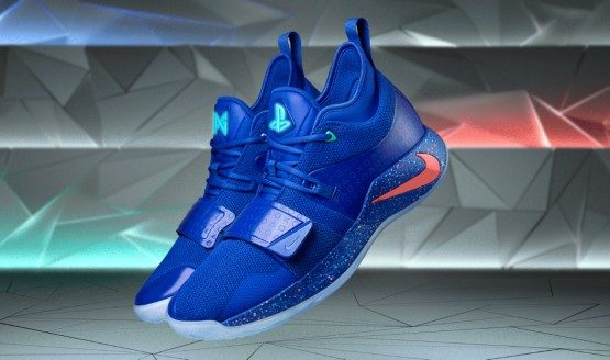 100% authentic 1fcec ee3f0 Paul George's PlayStation Sneakers Get a Modern Colorway and ...