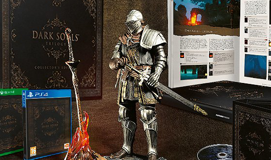 Dark Souls Trilogy Collectors Edition Announced for Europe