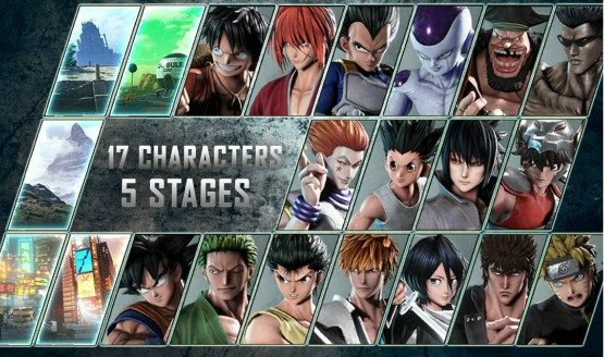Jump Force Beta Will Let You Play 17 Characters Across 5