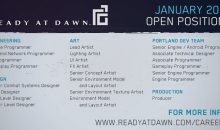 Ready at Dawn careers