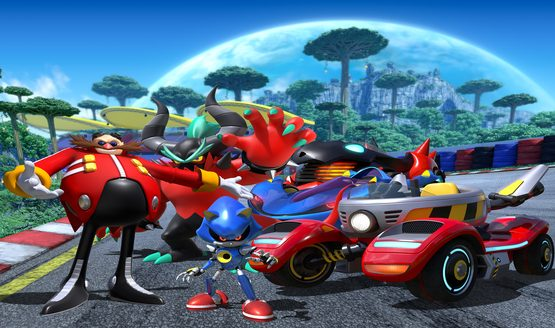 Meet Team Sonic Racing's Dastardly Team Eggman