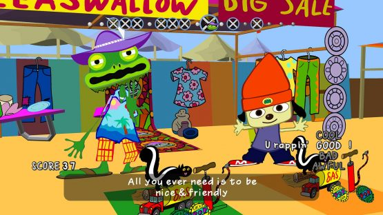 The PlayStation Classics: PaRappa the Rapper