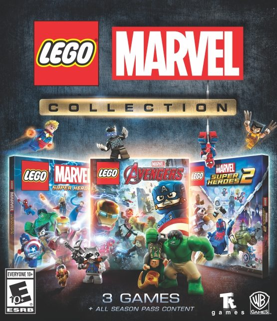 LEGO Marvel Collection Key Art