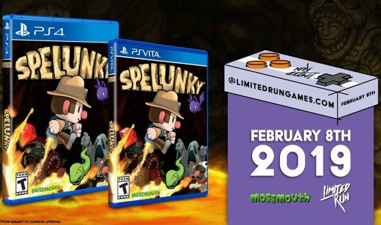 Limited Run Games Is Releasing Spelunky Physically for PS4 and PS Vita
