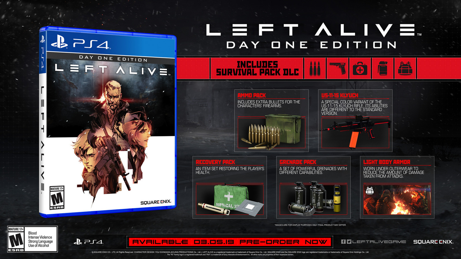 Left Alive MECH Edition Giveaway