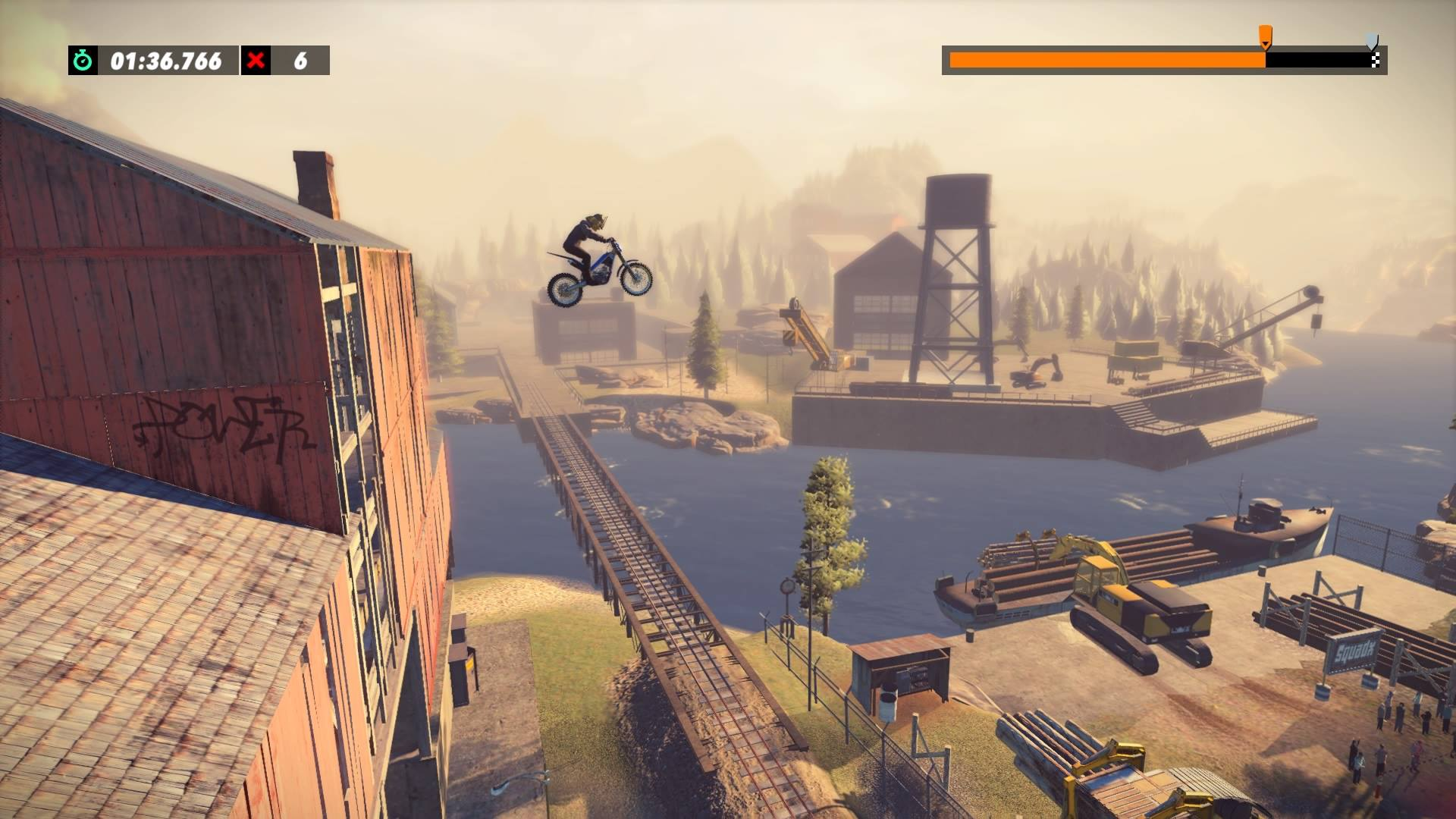 Trials Rising's camera work makes for an exhilarating game.