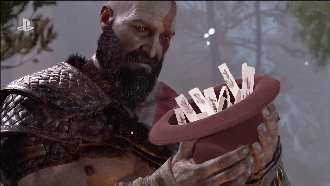 God of war title hat name