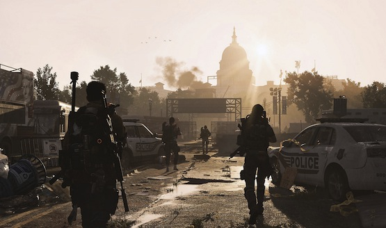 The Division 2 mexico Wall