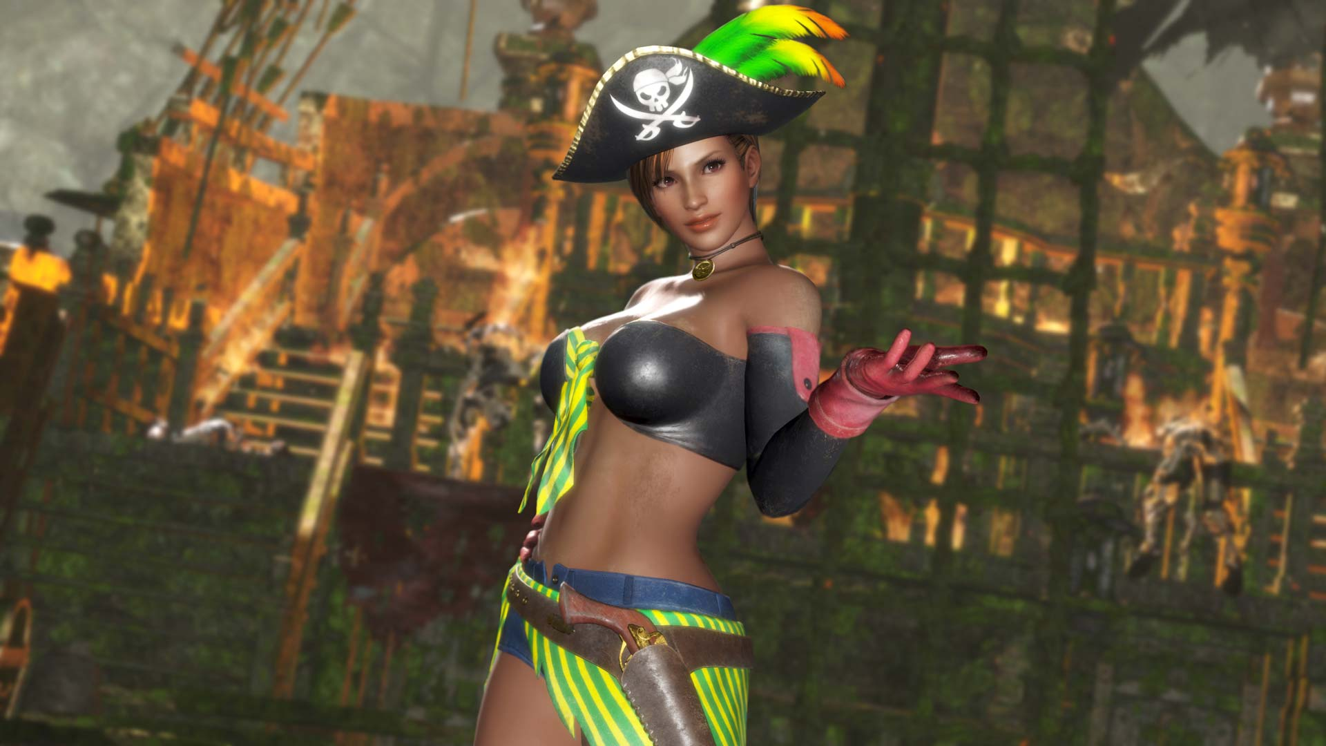 Dead or Alive 6 Leaderboards and Pirate Costumes Added With a New Patch