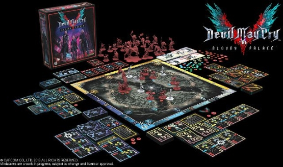 Devil May Cry Board
