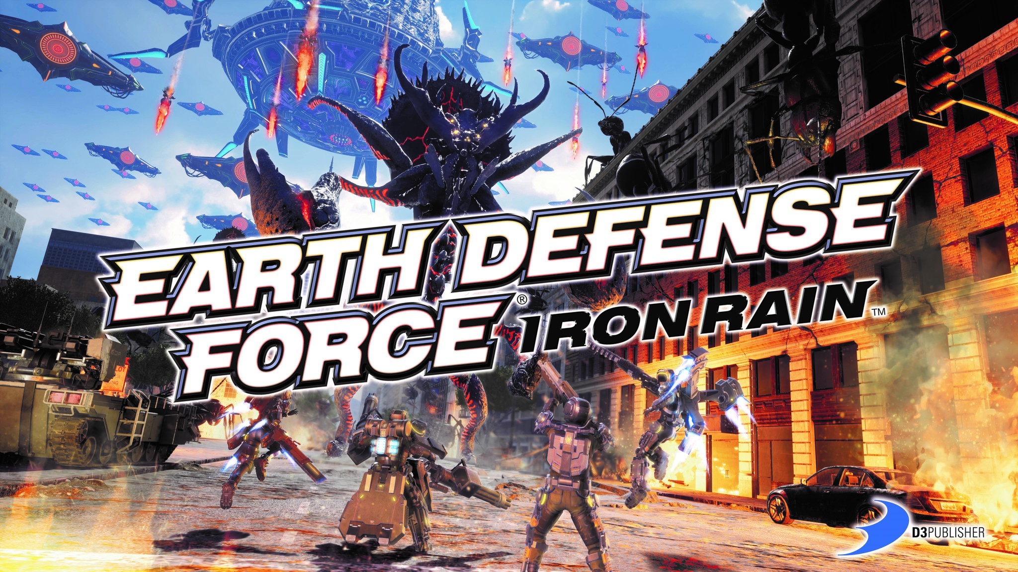 Earth Defense Force Iron Rain Review