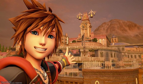 Sora Kingdom Hearts 3 Twilight Town