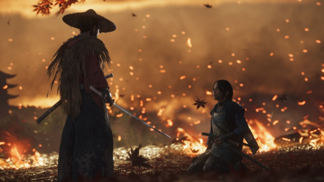 ghost of tsushima development