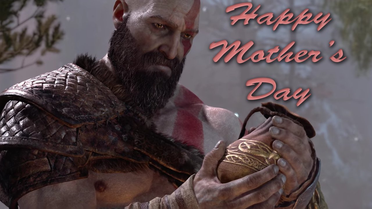 Daily reaction happy mothers day kratos ash bag