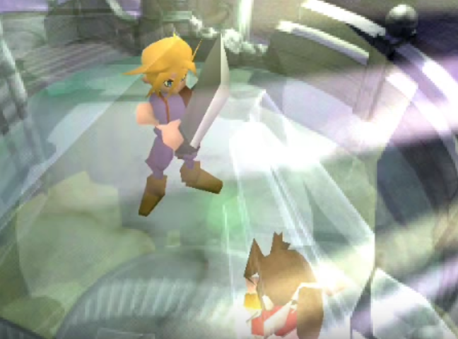 Final Fantasy 7 Remake Cloud Going To Kill Aerith