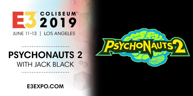 Psychonauts 2 E3 Demo Jack Black, Tim Schafer