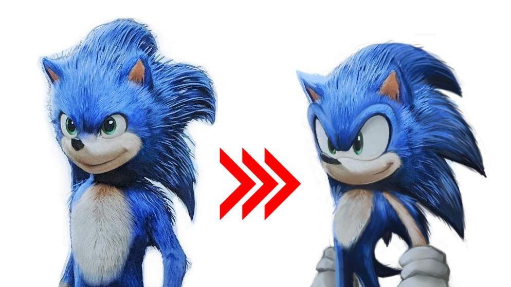 Sonic The Hedgehog >> Sonic The Hedgehog Movie Design Will Be Fixed Following