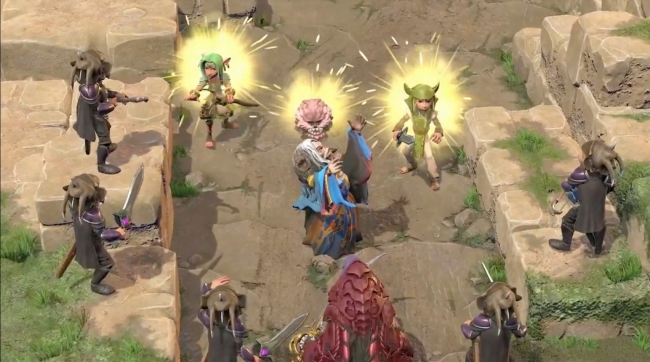 The Dark Crystal Age of Resistance Tactics PS4