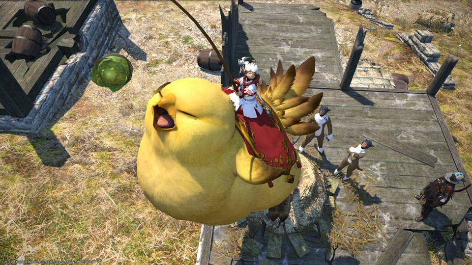 Get a Final Fantasy 14 Mount for Free From Amazon
