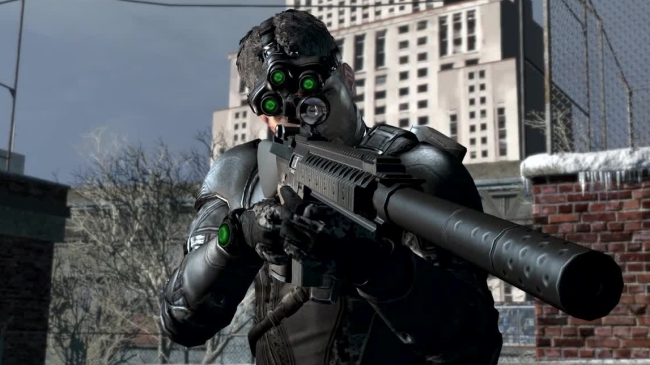 splinter cell development