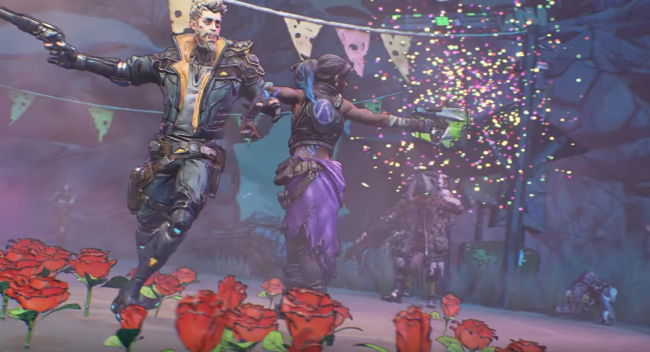 Borderlands 3 celebration of togetherness so happy together trailer