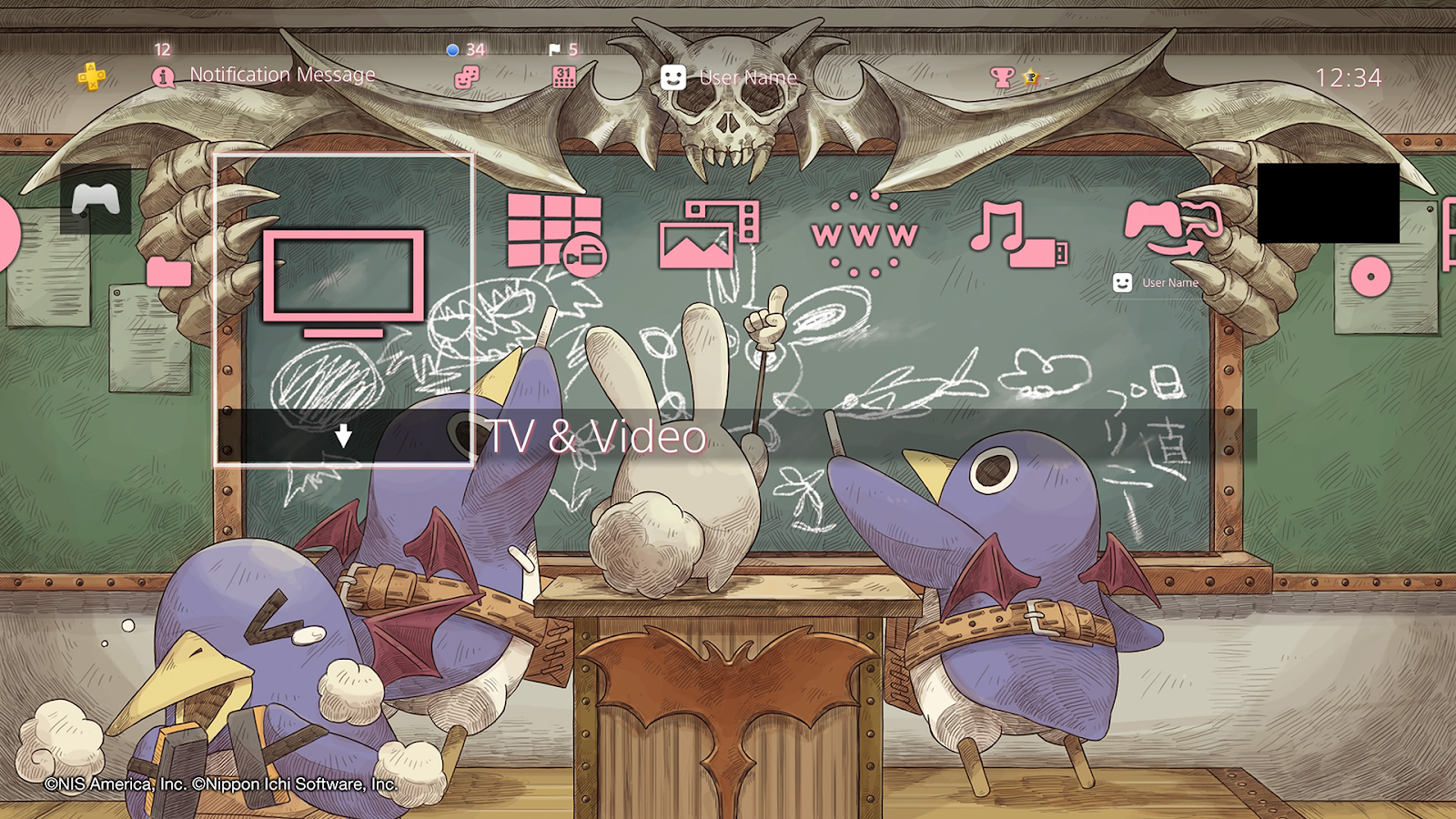 Grab These Free Disgaea Themes and Avatars for Your PS4