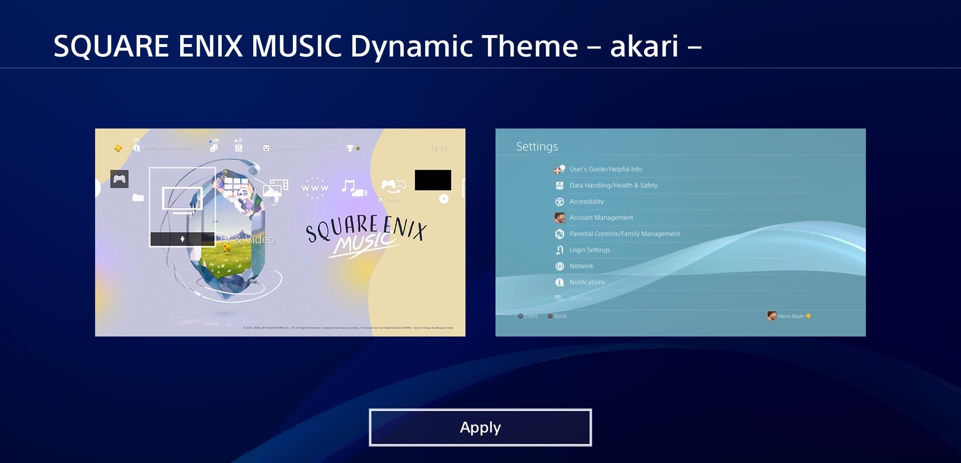 Free Square Enix Themes Available for Download Now