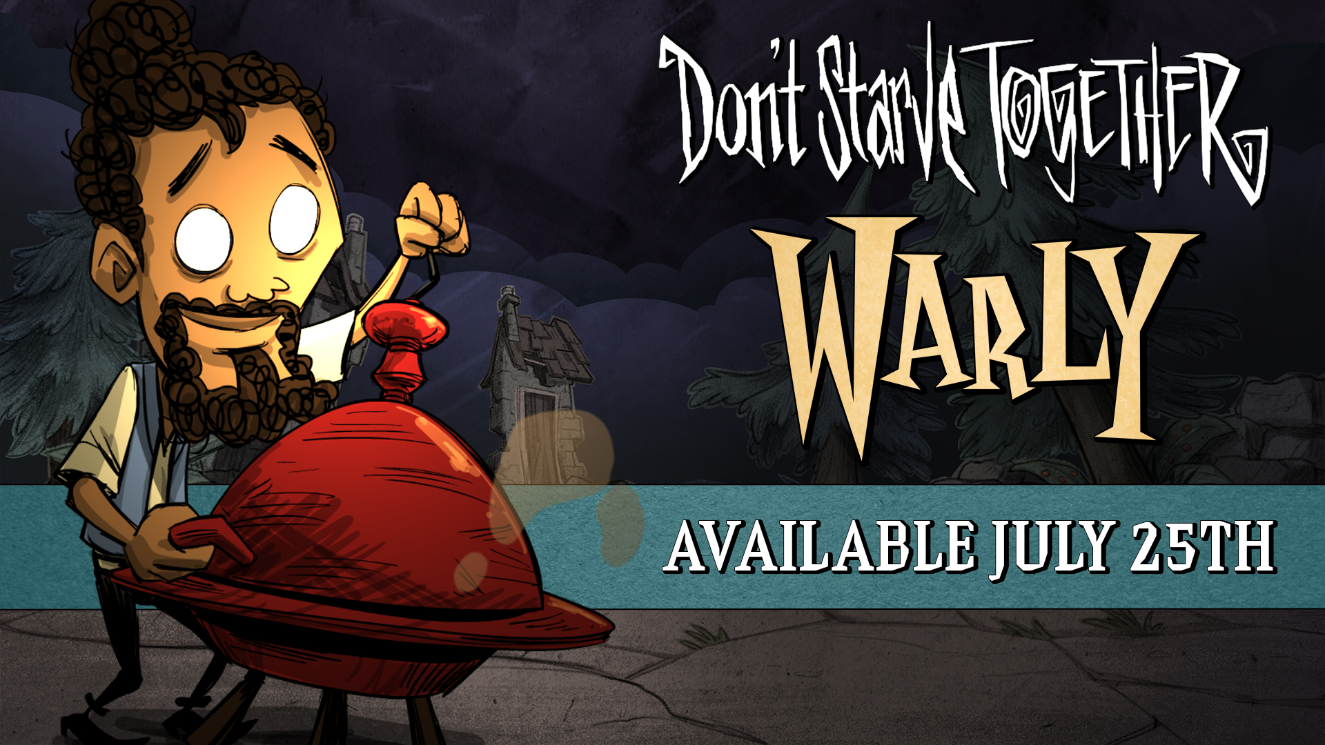 New Don't Starve Together Character Warly Being Added This Week