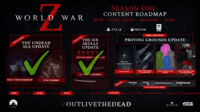 World War Z Proving Grounds Update Adds Weekly Challenges, Rewards
