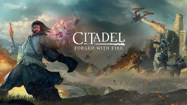 Become a Master Sorcerer in Online Open World RPG Citadel: Forged With Fire in October