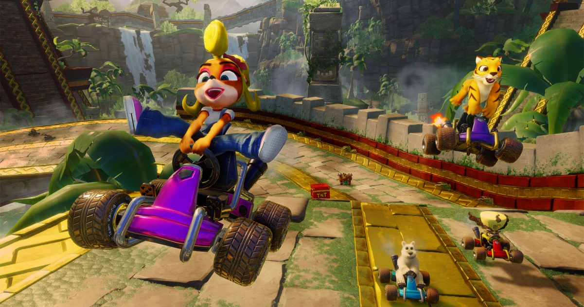 Crash Team Racing Nitro Fueled Sales Put it at Second for June 2019