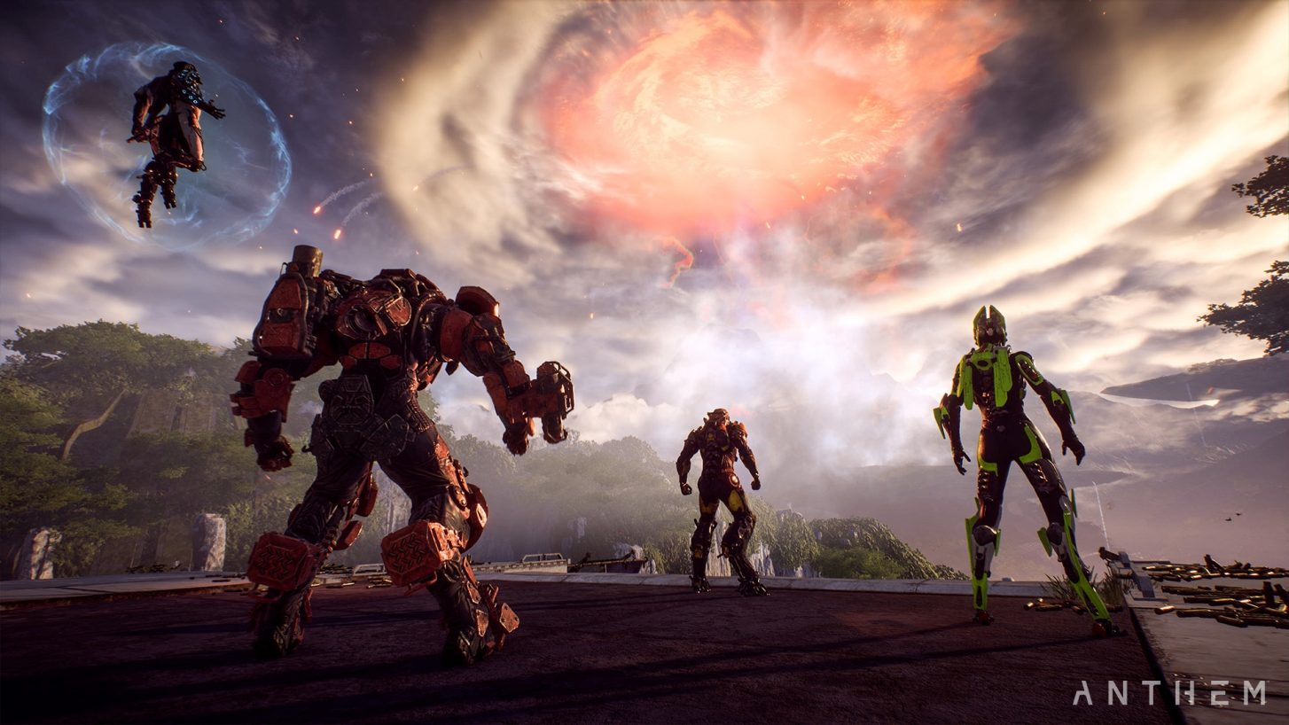 Anthem Update 1 3 0 Adds Cataclysm Event, New Weapon Classes