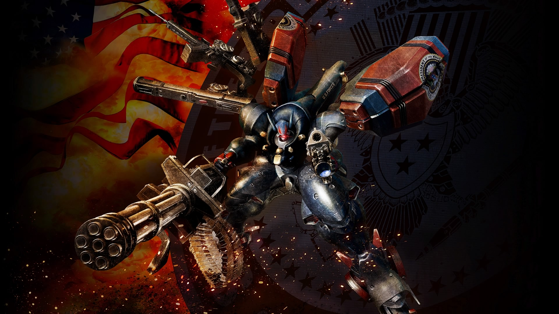 Metal Wolf Chaos XD Review – Mech America Great Again