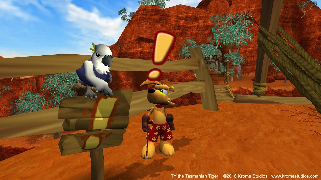 TY the Tasmanian Tiger PS4