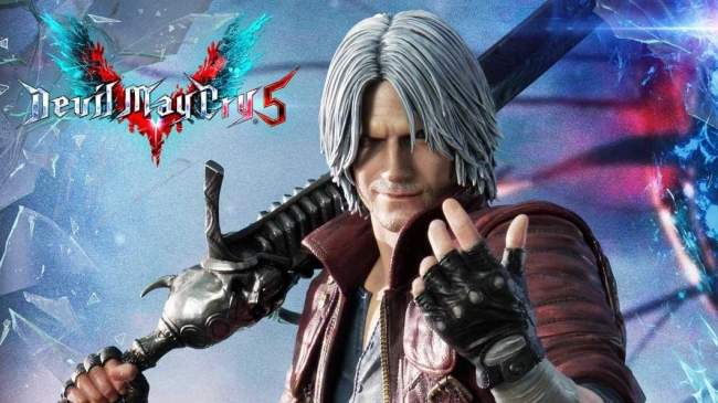 devil may cry 5 statue