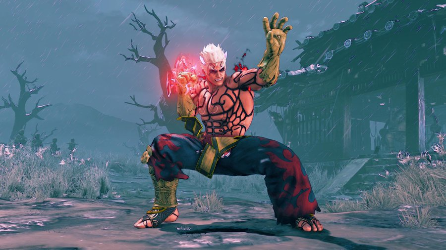Street Fighter 5 Asuras Wrath
