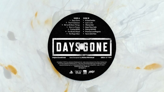 days gone soundtrack vinyl