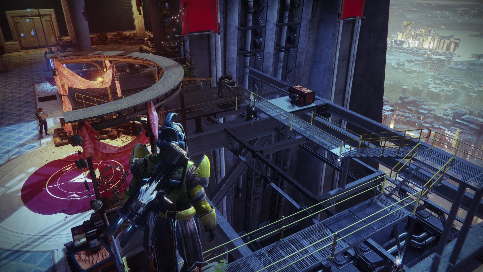 Destiny 2 tower expansion ikora Tower build built portal season of the undying