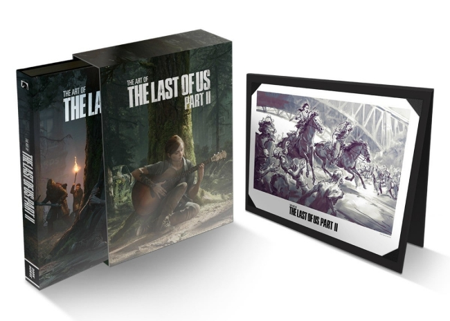 the art of the last of us part 2 deluxe edition