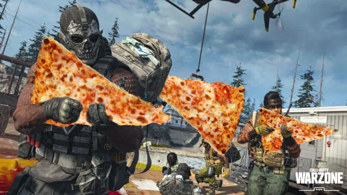 Call of duty Warzone free pizza