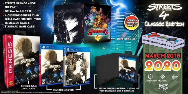 streets of rage 4 physical release
