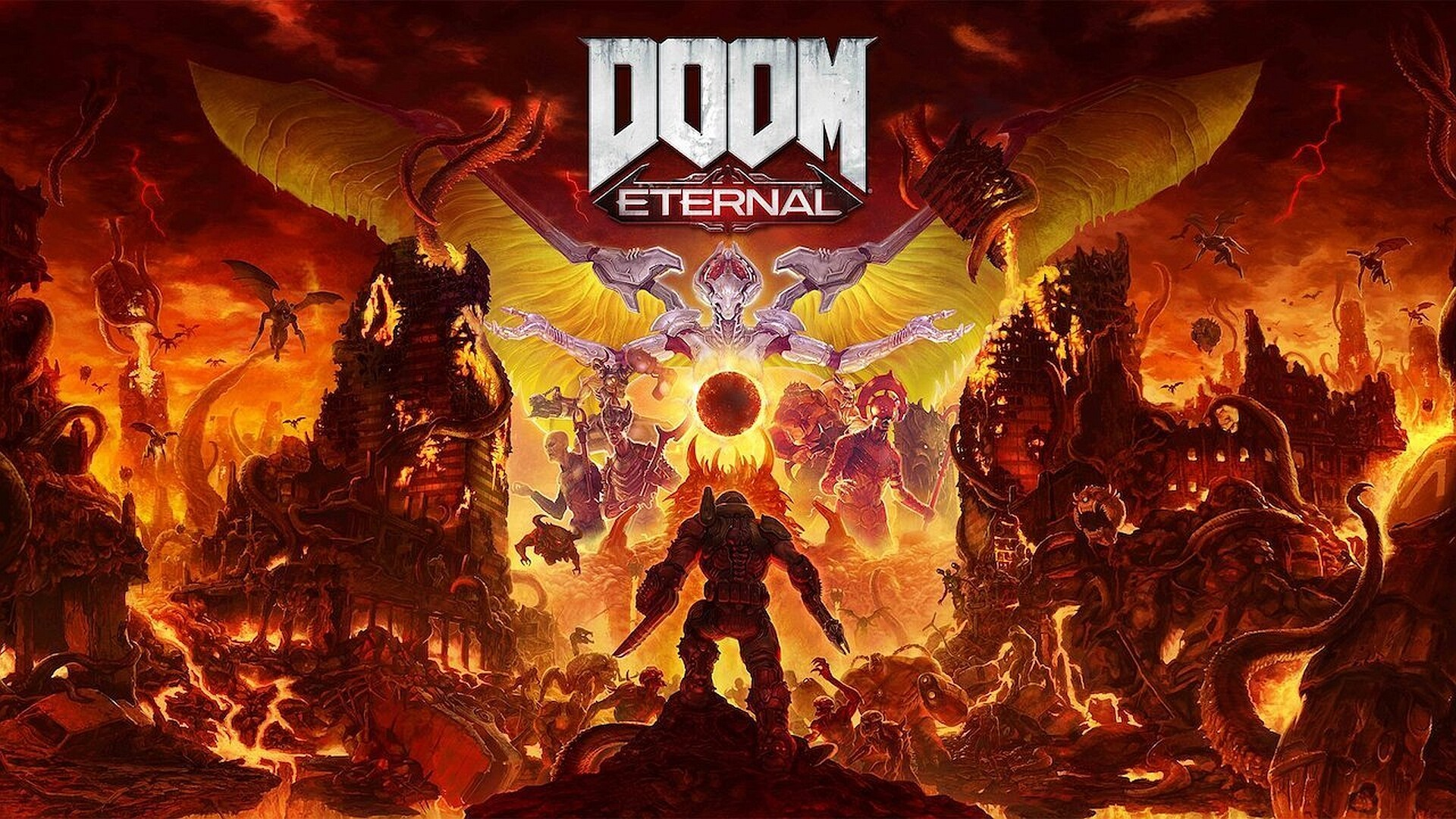 Here is the launch trailer for Doom Eternal