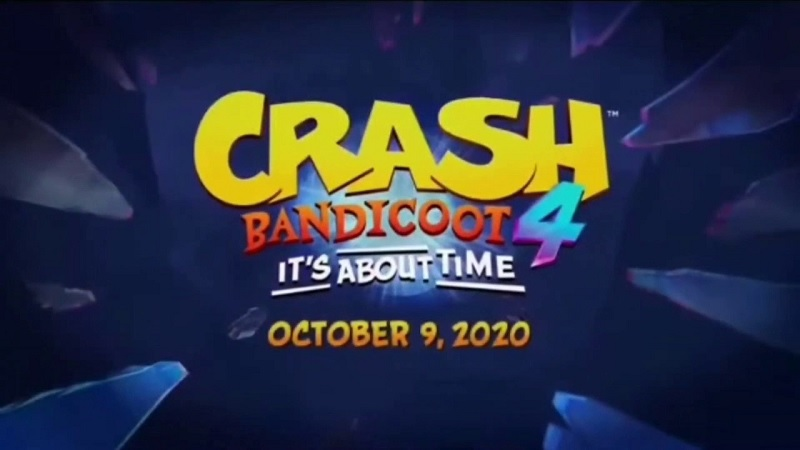 Crash Bandicoot 4 Trailer Screenshots Reportedly Leaked, Indicating an October 2020 Release
