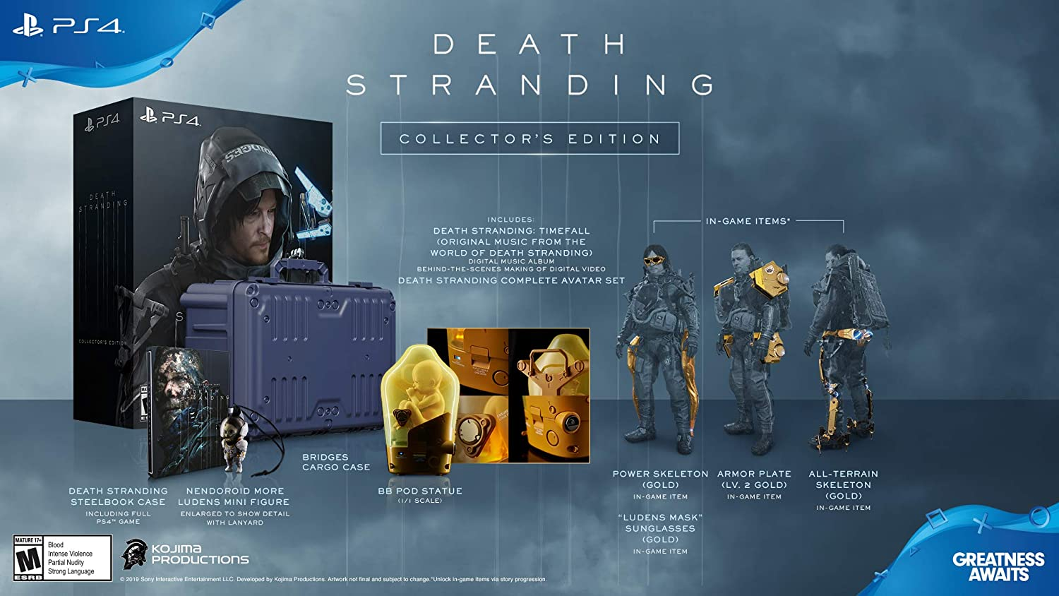 Death stranding collectors edition discount video game deals
