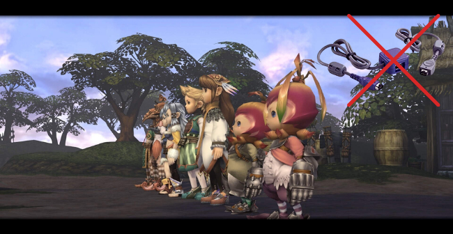 crystal chronicles remastered offline multiplayer