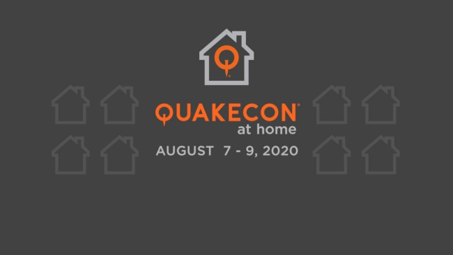 QuakeCon at Home Schedule