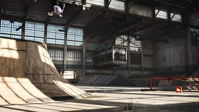 Tony hawk's Pro Skater 1 and 2 warehouse demo hands-on preview 3